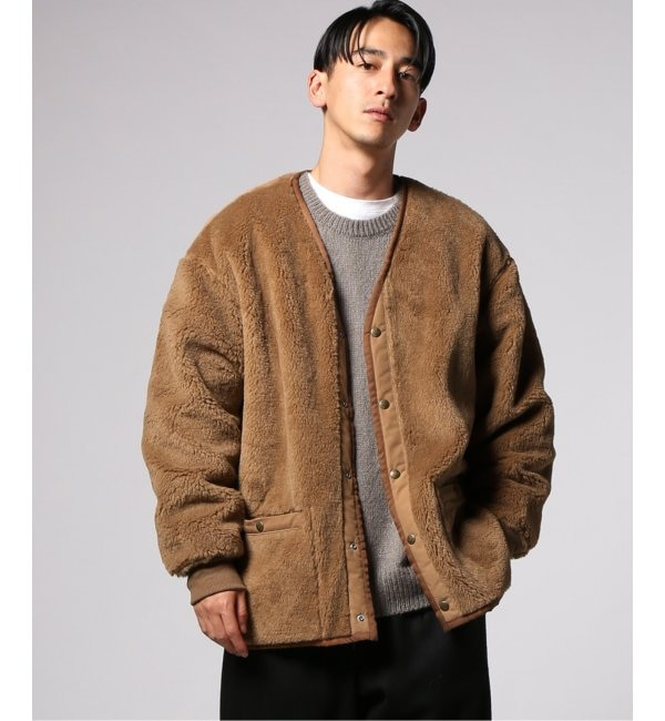 【ジャーナルスタンダード/JOURNAL STANDARD】 WOOL MIX BOA REVERSIBLE LINER JKT