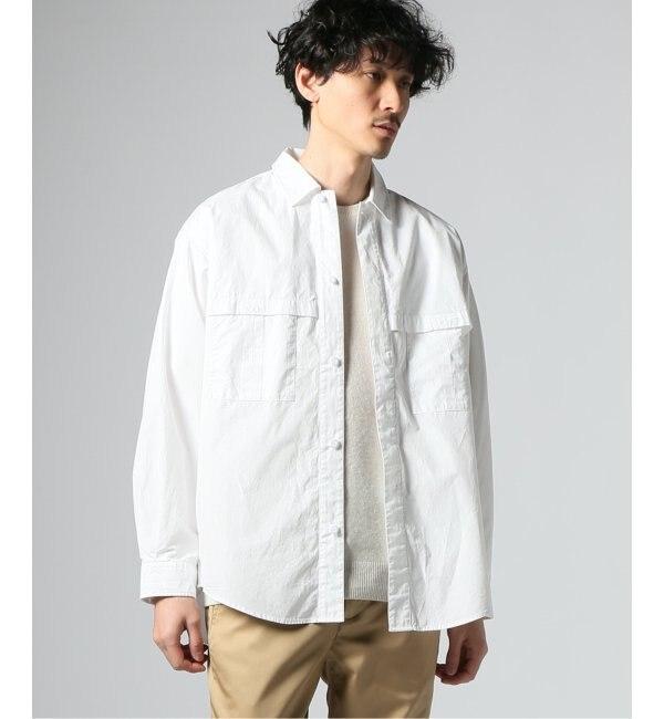 【ジャーナルスタンダード/JOURNAL STANDARD】 120/2 flap pocket シャツ