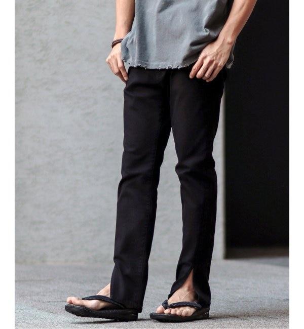 人気ファッションメンズ|【ジャーナルスタンダード/JOURNAL STANDARD】 Slash hem スキニーパンツ