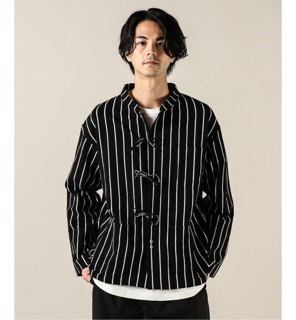 モテ系ファッションメンズ 【ジャーナルスタンダード/JOURNAL STANDARD】 【Charcoal/チャコール】OC String Jacket