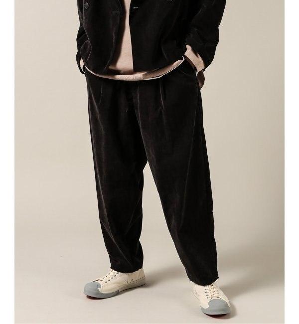 ファッションメンズなら|【ジャーナルスタンダード/JOURNAL STANDARD】 SLOW TACK WIDE VELVET パンツ