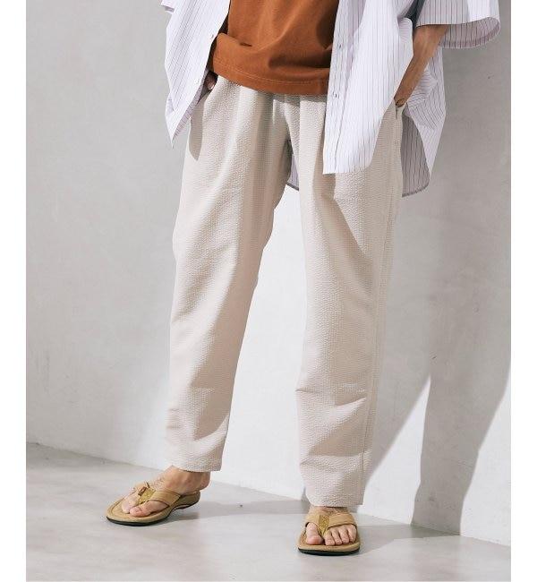 メンズファッションの一押し 【ジャーナルスタンダード/JOURNAL STANDARD】 ドライシアサッカー アクティブパンツ