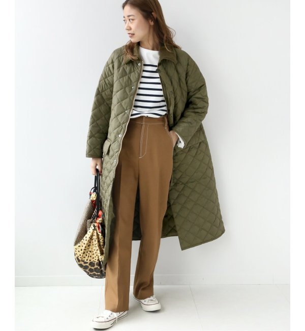 【Barbour/バブアー】BURGHLEY QUILT:キルティングコート◆