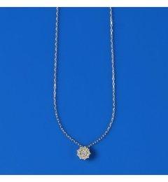 【スピック&スパン/Spick&Span】LilasAUTHENTICフラワーダイヤK10ネックレス[送料無料]