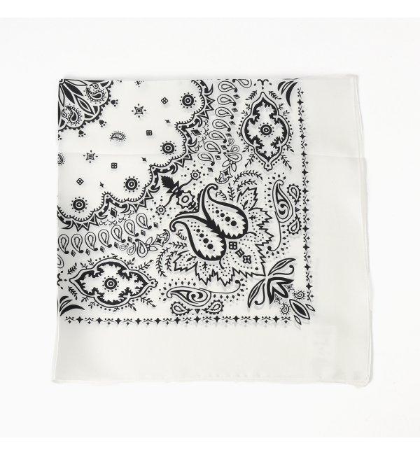 【スピック&スパン/Spick & Span】 ENensorcivetシルクバンダナガラスカーフ [送料無料]