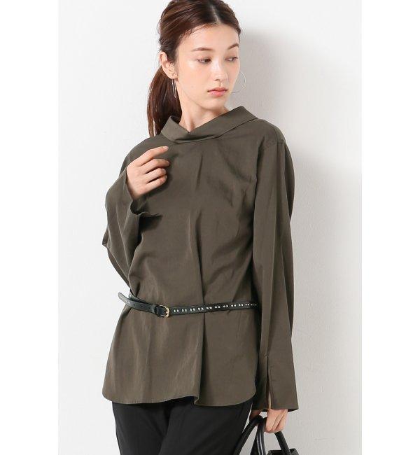 【スピック&スパン/Spick & Span】 バックボタンレギュラーシャツ [送料無料]