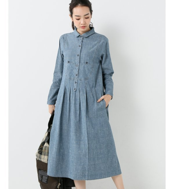 【スピック&スパン/Spick & Span】 【THE GREAT】 indigo chambray thepopover [送料無料]