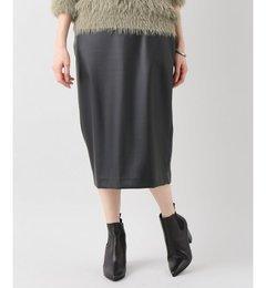 【スピック&スパン/Spick & Span】 フェイクレザータイトスカート [送料無料]
