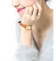 ORIGINAL WATCH◆【スピック&スパン/Spick & Span レディス 腕時計 キャメル ルミネ LUMINE】
