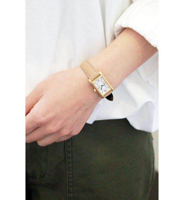 ORIGINAL WATCH【スピック&スパン/Spick & Span レディス 腕時計 ベージュ ルミネ LUMINE】