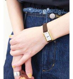 ORIGINAL WATCH【スピック&スパン/Spick & Span レディス 腕時計 カーキ ルミネ LUMINE】