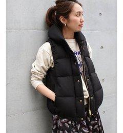 【スピック&スパン/Spick & Span】 ≪予約≫ショールカラー ダウンベスト◆ [送料無料]