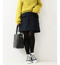 【スピック&スパン/Spick & Span】 ≪予約≫サイドポケット ミニスカート◆ [送料無料]