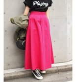 ≪予約≫【DICKIES × Spick】FLY SKIRT◆