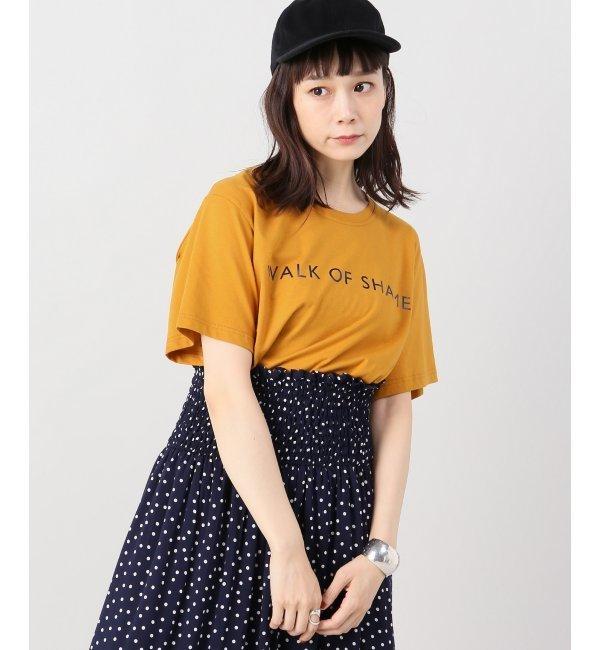 <アイルミネ> スピック&スパン厳選 【WALK OF SHAME】WOS ロゴTシャツ [送料無料]