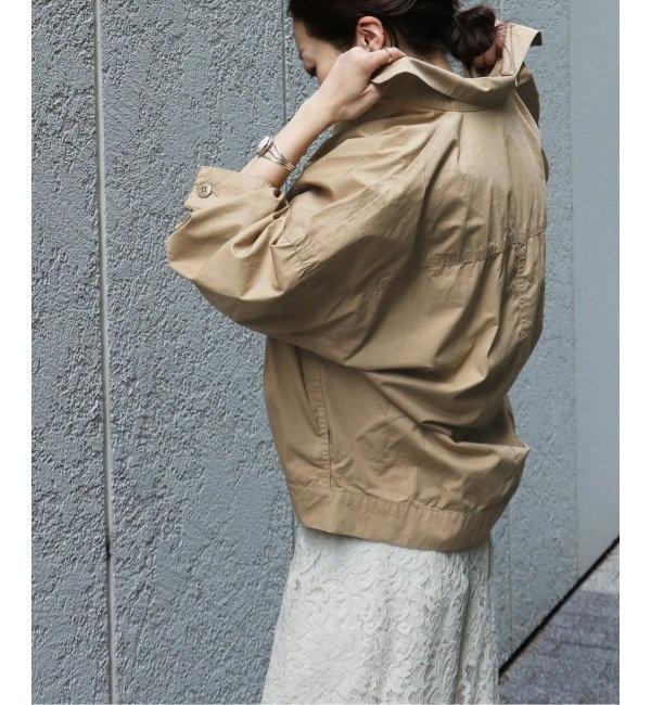 【スピック&スパン/Spick & Span】 オーバーサイズミリタリーシャツジャケット◆