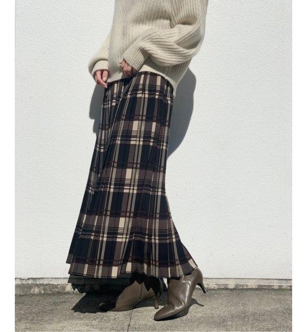 スカート プリーツ