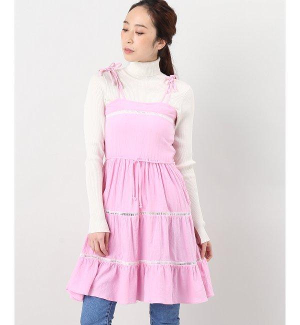 【エディット フォー ルル/EDIT.FOR LULU】 ◇VINTAGE REMAKE Vintage dress チュニック [送料無料]