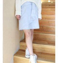 【リミットレスラグジュアリー/LIMITLESSLUXURY】ノーベルスエードラップスカート◆[送料無料]