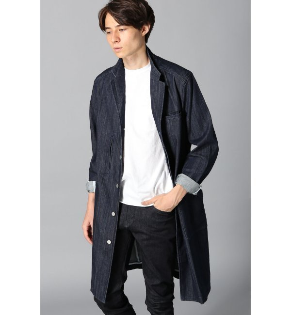 【アイボリー コート/ivory court】 【WHEIR Bobson】mens coat [送料無料]
