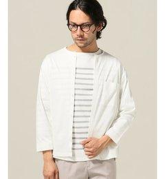【アイボリーコート/ivorycourt】スーピマポンチカットシャツ[送料無料]
