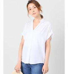 【アイボリー コート/ivory court】 セッショクレイカンシャツ [送料無料]