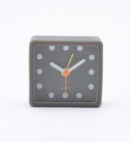 【ナノ・ユニバース/nano・universe】 スクエアシェイプ 目覚まし時計 [3000円(税込)以上で送料無料]