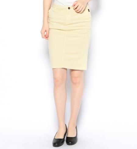【ナノ・ユニバース/nano・universe】 ペンシルタイトカラースカート [3000円(税込)以上で送料無料]