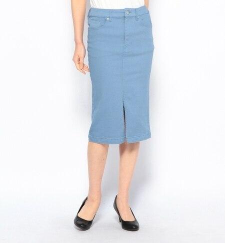 【ナノ・ユニバース/nano・universe】 カラータイトスカート [送料無料]