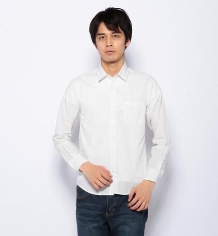 【ナノ・ユニバース/nano・universe】 PINドットシャツ LS [送料無料]