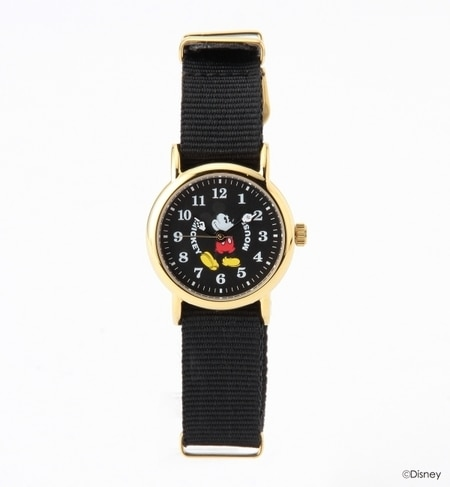 【ナノ・ユニバース/nano・universe】 VOGA Disney Mickey Watch BKBK [送料無料]