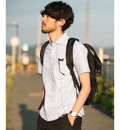 【ナノ・ユニバース/nano・universe】OneNightDryシャツS/S[3000円(税込)以上で送料無料]