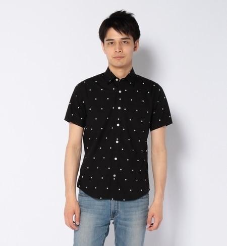 【ナノ・ユニバース/nano・universe】 ドットシャツ SS [送料無料]