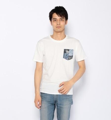 【ナノ・ユニバース/nano・universe】 BANDANA pocket T×LOGOS [3000円(税込)以上で送料無料]