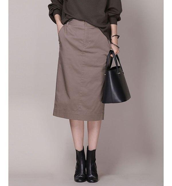 【ナノ・ユニバース/nano・universe】 【美人百花 10月号掲載】Couture-line(クチュールライン)Hip Upタイトスカート [送料無料]