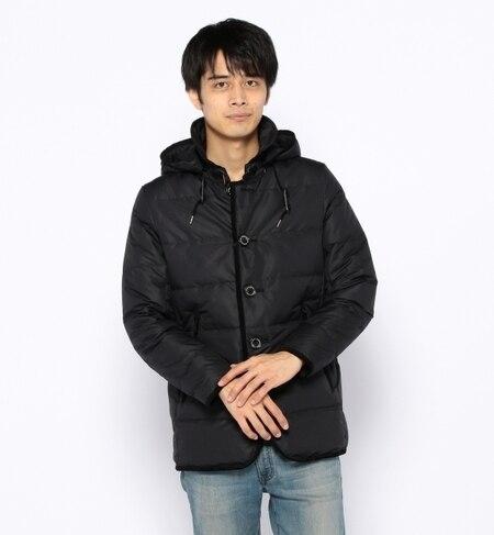 【ナノ・ユニバース/nano・universe】 西川ダウンシングルコート [送料無料]