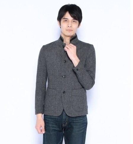 【ナノ・ユニバース/nano・universe】 ウォームノッチドカバーオールジャケット [送料無料]