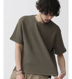 【ナノ・ユニバース/nano・universe】 ヘビーワッフルTシャツ [3000円(税込)以上で送料無料]