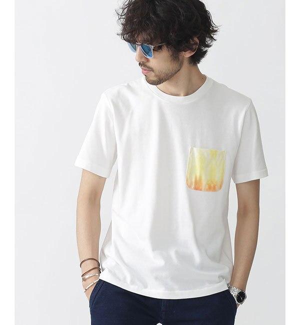 【ナノ・ユニバース/nano・universe】 //タイダイ染めポケットTシャツ
