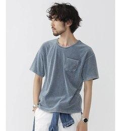 【ナノ・ユニバース/nano・universe】ROYALPALM/RPインディゴパイルTシャツS/S[送料無料]