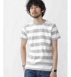 【ナノ・ユニバース/nano・universe】//パイルボーダーTシャツ[送料無料]