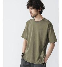 【ナノ・ユニバース/nano・universe】ピグメントサイドコードTシャツ[送料無料]