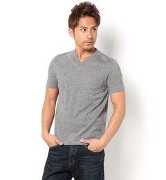 【ナノ・ユニバース/nano・universe】//リンクス星柄Tシャツ[送料無料]