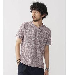 【ナノ・ユニバース/nano・universe】//ジャガードパイルVネックTシャツ[送料無料]