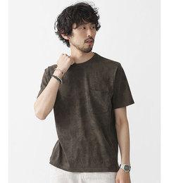 【ナノ・ユニバース/nano・universe】//シャドートロピカルクルーネックTシャツ[送料無料]
