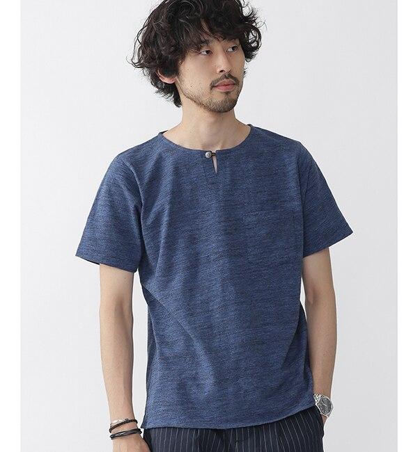 【ナノ・ユニバース/nano・universe】 //スラブコンチョスキッパーTシャツ