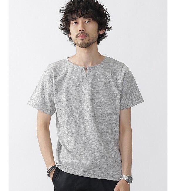 【ナノ・ユニバース/nano・universe】 //スラブコンチョスキッパーTシャツ [送料無料]
