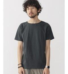 【ナノ・ユニバース/nano・universe】 米綿ボートネックTシャツ [3000円(税込)以上で送料無料]