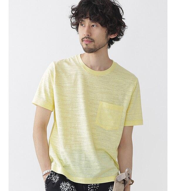 【ナノ・ユニバース/nano・universe】 //カラー杢クルーネックTシャツ [3000円(税込)以上で送料無料]