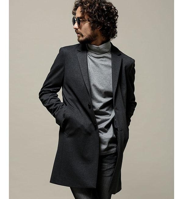 メンズファッションの一押し|【ナノ・ユニバース/nano・universe】 CARREMAN ストレッチチェスターコート